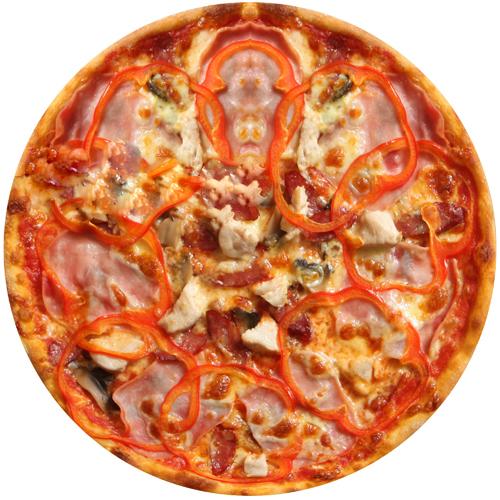 Пицца Сальсичолло